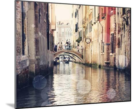 Venice Bokeh XIV-Sylvia Coomes-Mounted Art Print