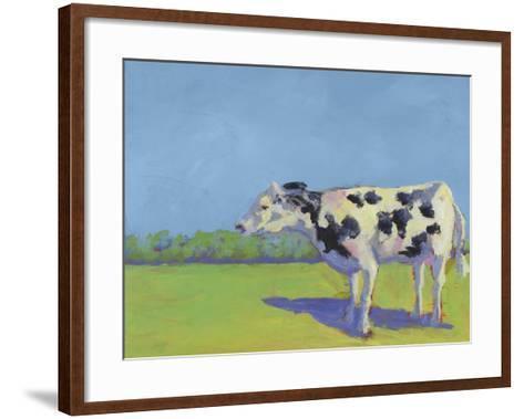 Cow Pals III-Carol Young-Framed Art Print