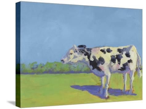 Cow Pals III-Carol Young-Stretched Canvas Print