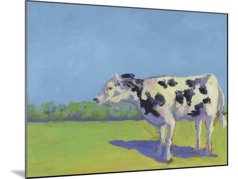 Cow Pals III-Carol Young-Mounted Art Print