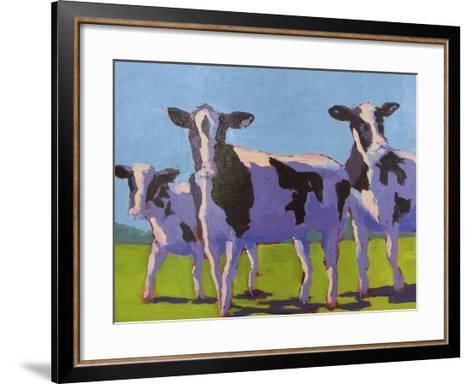 Cow Pals IV-Carol Young-Framed Art Print