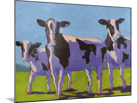 Cow Pals IV-Carol Young-Mounted Art Print