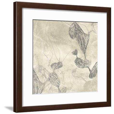 Graphite Inversion III-June Erica Vess-Framed Art Print