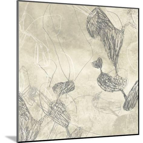 Graphite Inversion III-June Erica Vess-Mounted Giclee Print