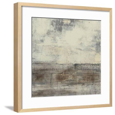 Neutral Plane I-Jennifer Goldberger-Framed Art Print