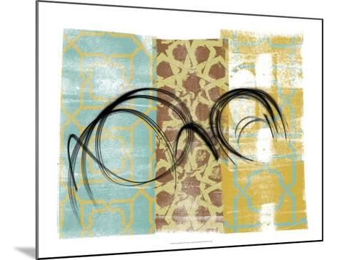 Swirling II-Alonzo Saunders-Mounted Art Print