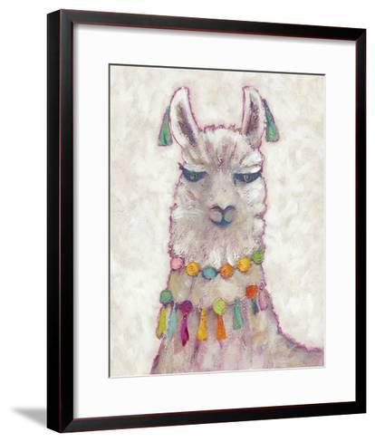Festival Llama II-Chariklia Zarris-Framed Art Print