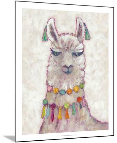 Festival Llama II-Chariklia Zarris-Mounted Art Print