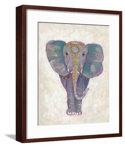 Festival Elephant I-Chariklia Zarris-Framed Art Print