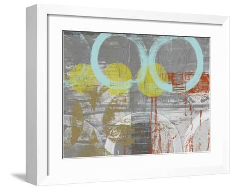 Linked Orbs I-Jennifer Goldberger-Framed Art Print