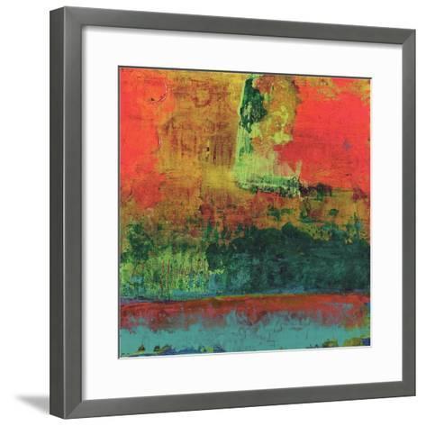 Hifi Abstract V-Elena Ray-Framed Art Print