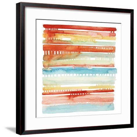 Connected Lines I-Grace Popp-Framed Art Print