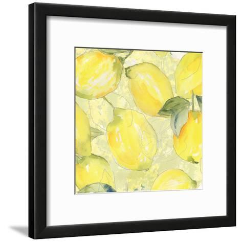 Lemon Medley II-Leslie Mark-Framed Art Print