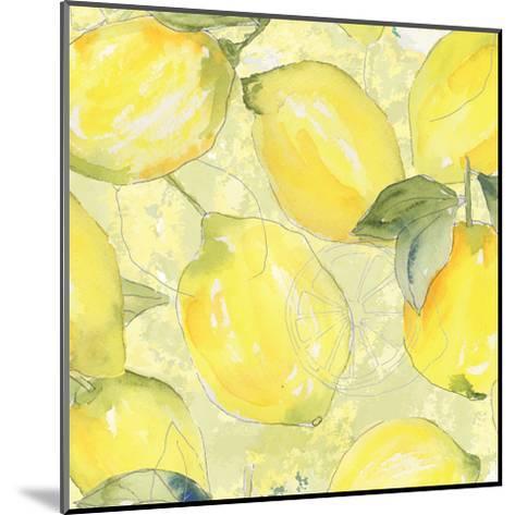 Lemon Medley II-Leslie Mark-Mounted Art Print