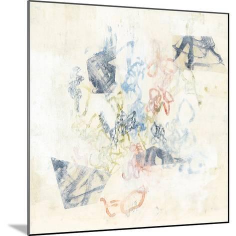 Pastel Scribble I-Jennifer Goldberger-Mounted Art Print