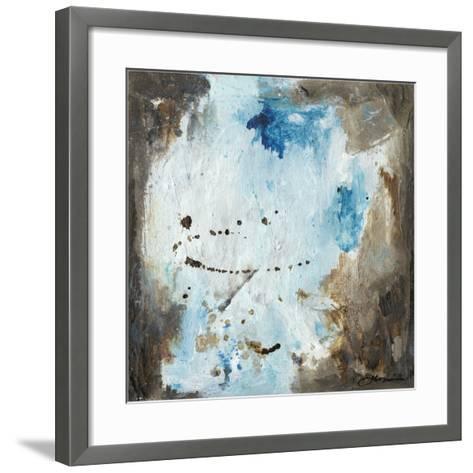 Blue Cliffs I-Joyce Combs-Framed Art Print
