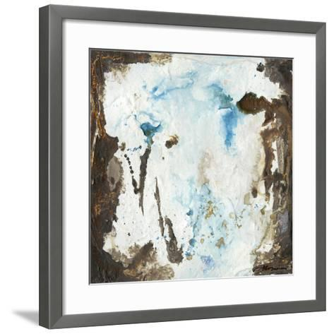 Blue Cliffs II-Joyce Combs-Framed Art Print
