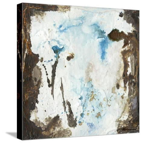 Blue Cliffs II-Joyce Combs-Stretched Canvas Print