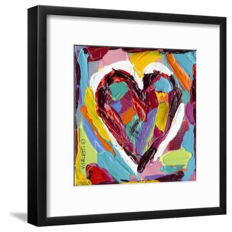 Colorful Expressions III-Carolee Vitaletti-Framed Art Print