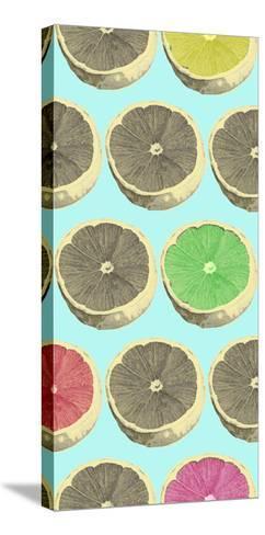 Pop Lemons II-Prunis Dulcis-Stretched Canvas Print