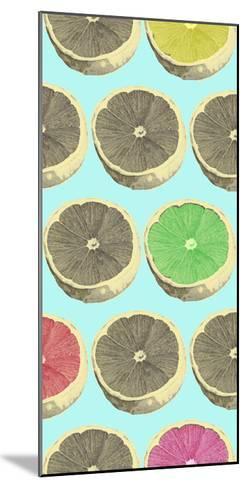 Pop Lemons II-Prunis Dulcis-Mounted Art Print