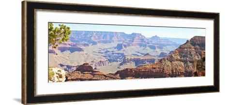 Grand Canyon Panorama II-Sylvia Coomes-Framed Art Print