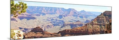 Grand Canyon Panorama II-Sylvia Coomes-Mounted Art Print