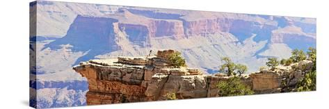 Grand Canyon Panorama III-Sylvia Coomes-Stretched Canvas Print