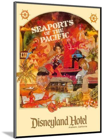 Seaports of the Pacific - Disneyland Hotel - Anaheim, California-Lotts-Mounted Art Print