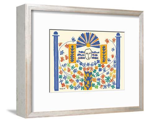 Apollo (Apollon) - Artist Model for a Ceramic Tile Mural-Henri Matisse-Framed Art Print