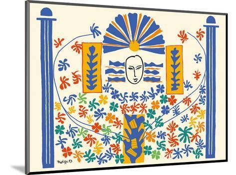 Apollo (Apollon) - Artist Model for a Ceramic Tile Mural-Henri Matisse-Mounted Art Print