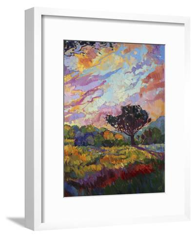 California Sky (bottom right)-Erin Hanson-Framed Art Print