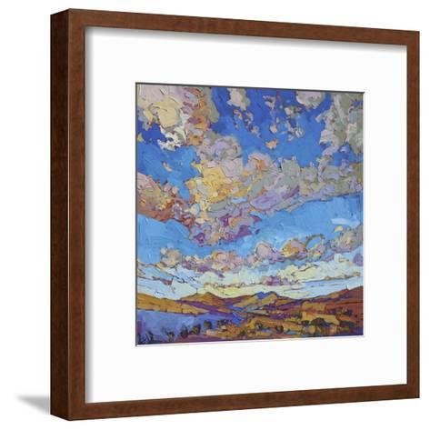 Driving Sky-Erin Hanson-Framed Art Print