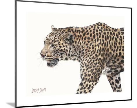 Passing Leopard-Lindsay Scott-Mounted Art Print