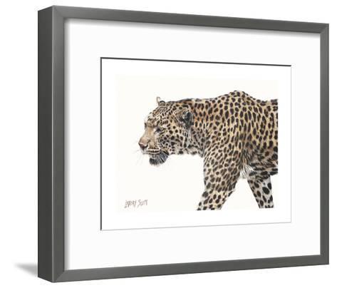 Passing Leopard-Lindsay Scott-Framed Art Print