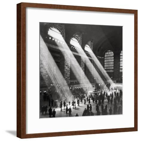 Grand Central Station, Morning-The Chelsea Collection-Framed Art Print