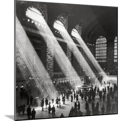 Grand Central Station, Morning-The Chelsea Collection-Mounted Giclee Print