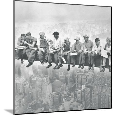 Lunch Atop A Skyscraper - Detail-The Chelsea Collection-Mounted Giclee Print