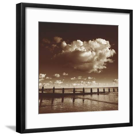 Seascape III-Bill Philip-Framed Art Print