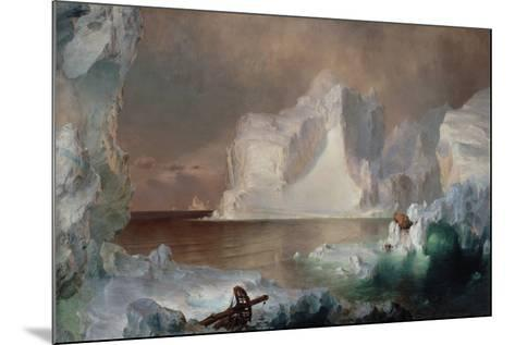 The Icebergs-Frederic Edwin Church-Mounted Giclee Print