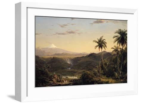 Cotopaxi-Frederic Edwin Church-Framed Art Print