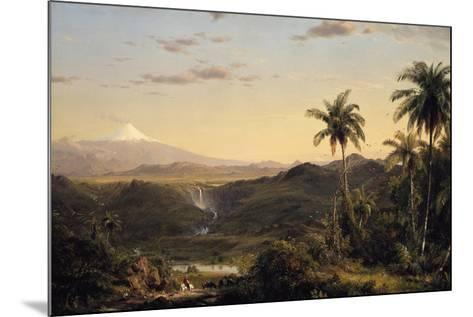Cotopaxi-Frederic Edwin Church-Mounted Giclee Print