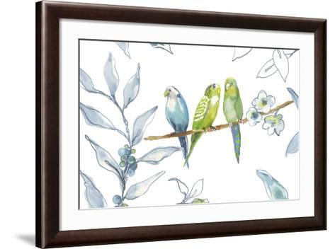 Birds Of A Feather-Sandra Jacobs-Framed Art Print
