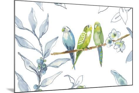 Birds Of A Feather-Sandra Jacobs-Mounted Giclee Print