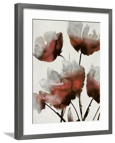 Sylvan II - Rouge-Tania Bello-Framed Art Print