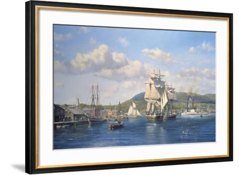 'Aurelia' at Camden, Maine-Roy Cross-Framed Art Print