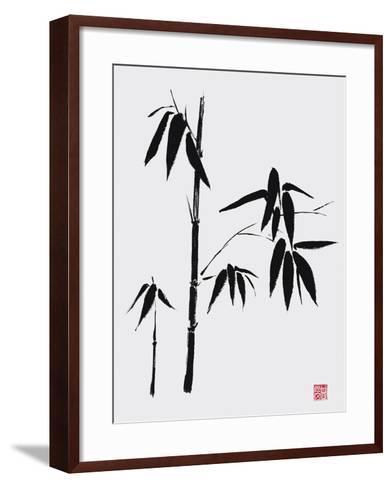 Bamboo II-Jenny Tsang-Framed Art Print