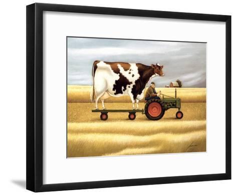 Ride To The Fair-Lowell Herrero-Framed Art Print