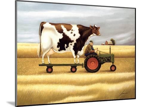 Ride To The Fair-Lowell Herrero-Mounted Art Print
