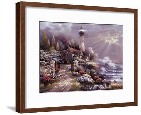 Coastal Splendor-James Lee-Framed Art Print
